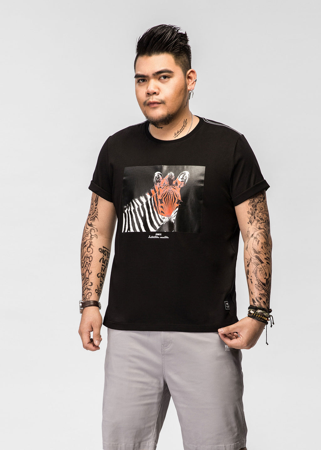 Zebra Graphic T-shirt - 82JT0914