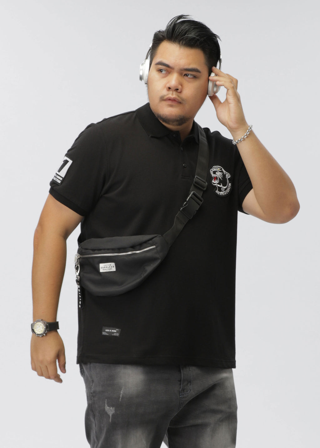 Tiger Head Polo Shirt - Z92JL1677