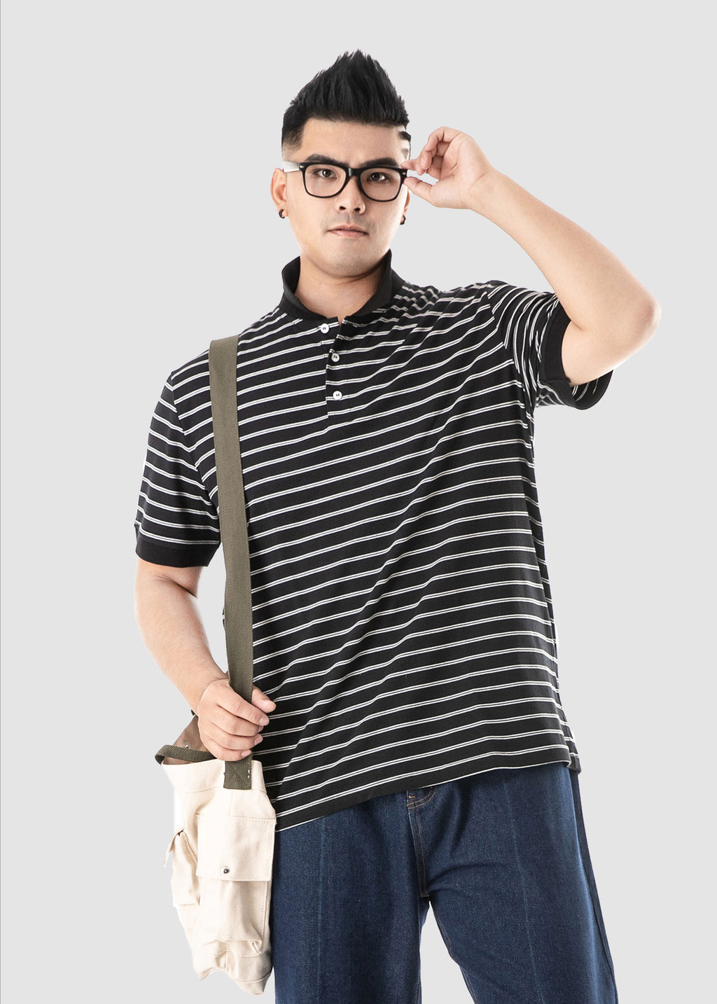 Striped Polo Shirt - 82JL0943