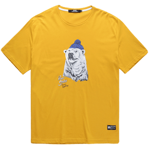 Polar Bear Print T-shirt - L92JT1711