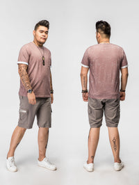 Crew Neck Pocket T-Shirt - 82JT0904