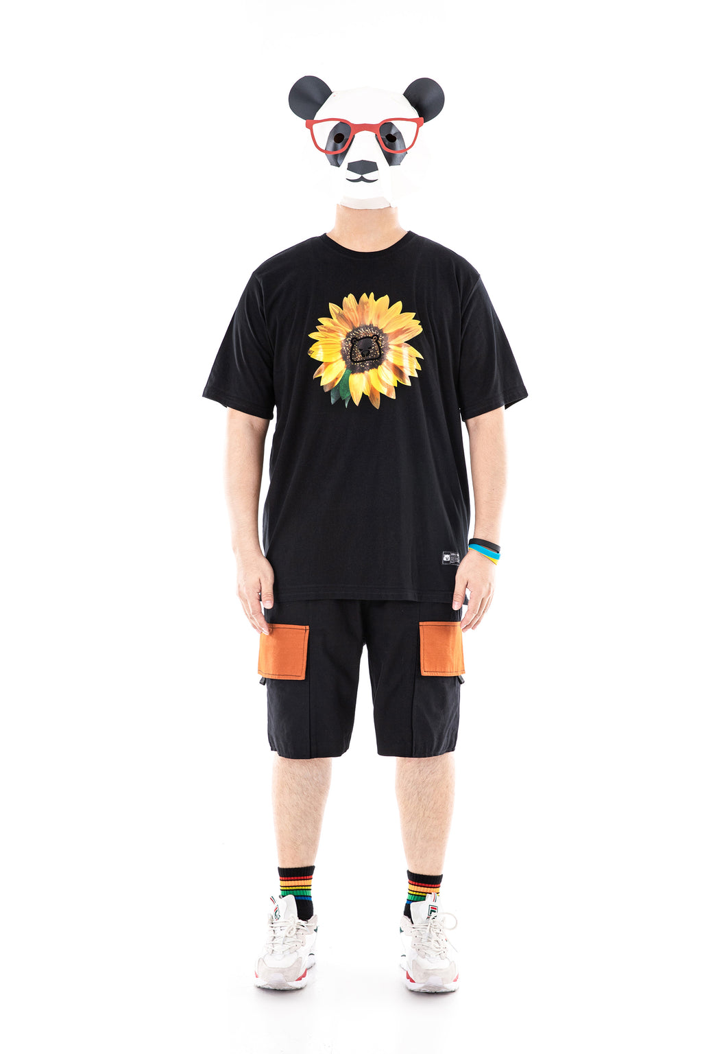 Sunflower Print T-Shirt - 02JT3155