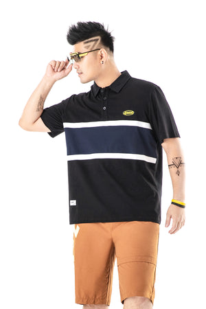 Colour Block Polo Shirt - 02JL2256