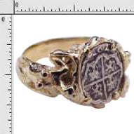 #5-1566 Replica One Half Reale Ring