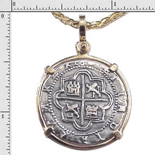 #6-7706  Replica Two Reale Pendant