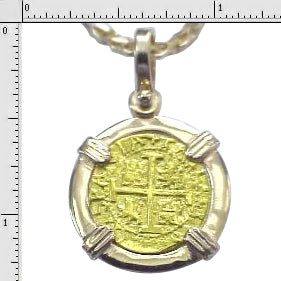 #6-7702  Replica One Escudo Pendant