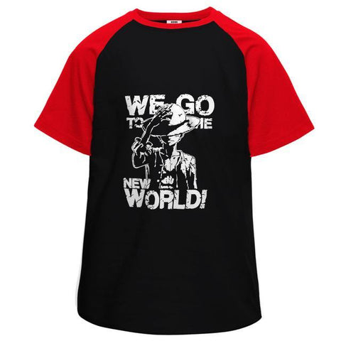 Monkey the Luffy World Half Sleeve Raglan