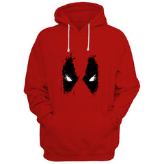 Deadpool Red Hoodie (Shipping From 10th October)