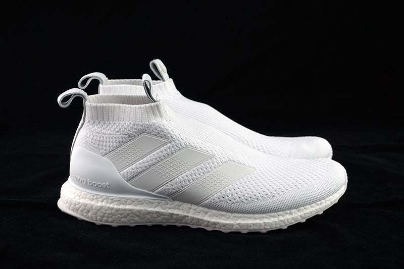 on sale 53dae dfa74 adidas ace 16 ultra boost triple white ac7750