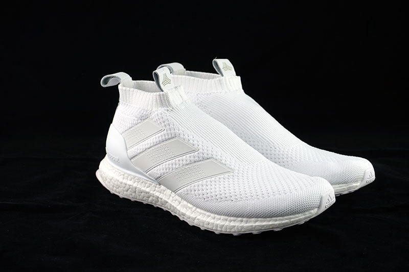 quality design 85768 bb560 ... adidas ACE 16+ Purecontrol Ultra Boost Triple White - The Sneakers Plug  ...