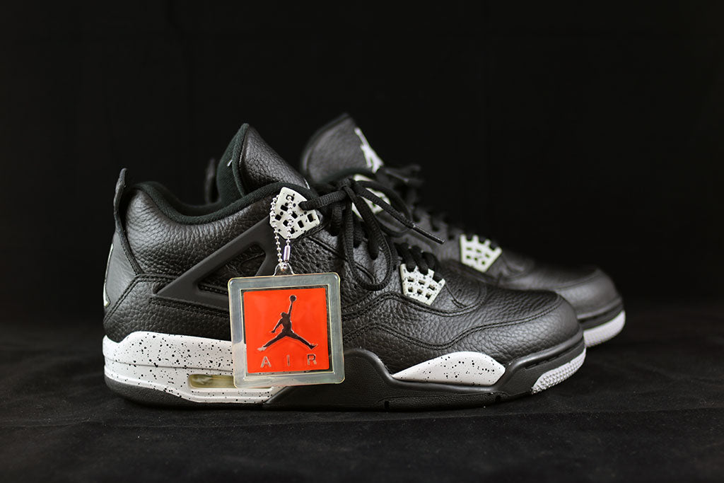 hot sale online c6a4f 1cde1 Air Jordan 4 Retro LS Oreo - The Sneakers Plug