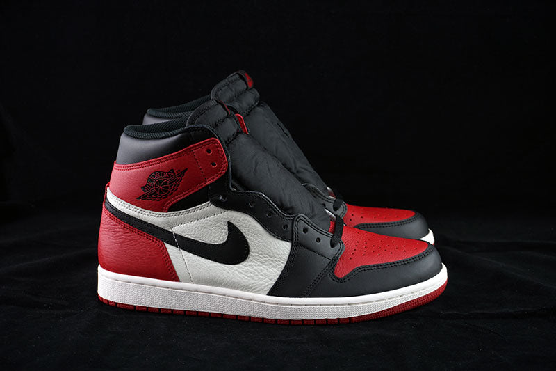 another chance 07f61 02225 Air Jordan 1 Retro High OG Bred Toe - The Sneakers Plug