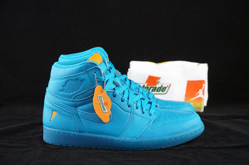 be1a532c4f9b4b Air Jordan 1 Retro High OG Gatorade Blue Lagoon – The Sneakers Plug