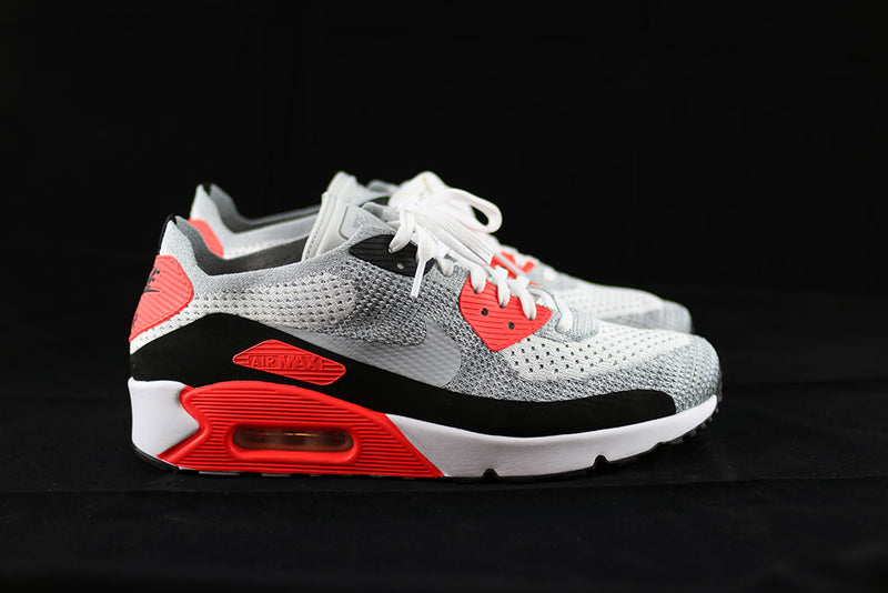 newest 277fd 6bf0e Nike Air Max 90 Ultra 2.0 Flyknit Infrared – The Sneakers Plug