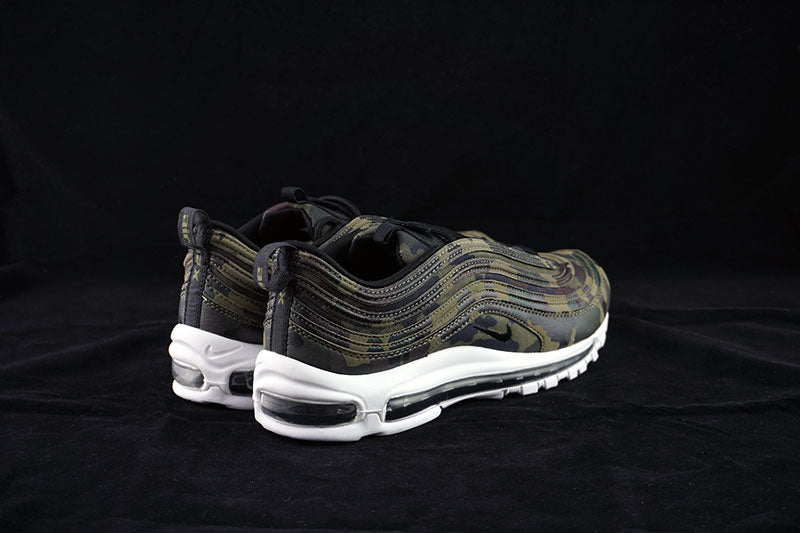 Nike Multicolor Air Max 97 Premium Qs S Running Trainers Aj2614 Sneakers Shoes