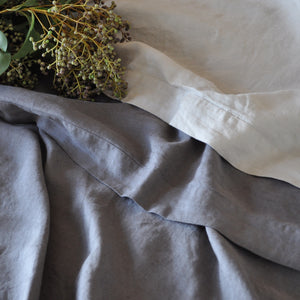 Queen Size Linen Flat Sheet