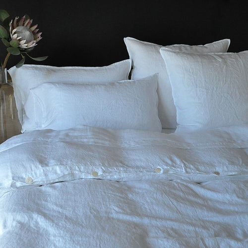 Queen Size Linen Duvet Cover