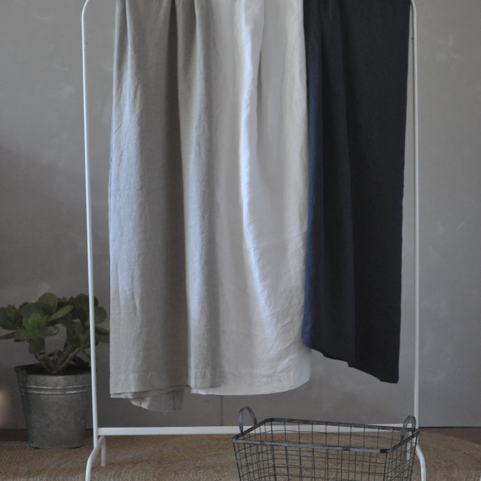 Pure Linen Blanket Small/Throw