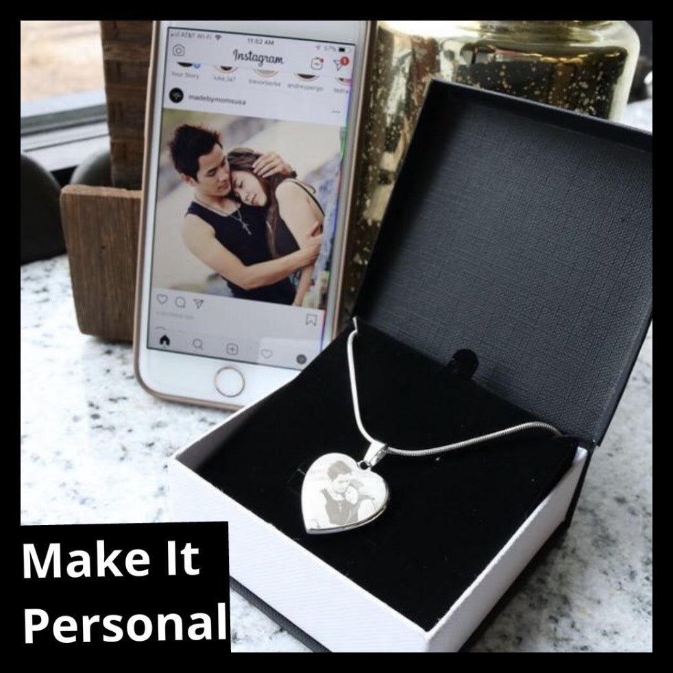 Upload Your Own Photo Necklace