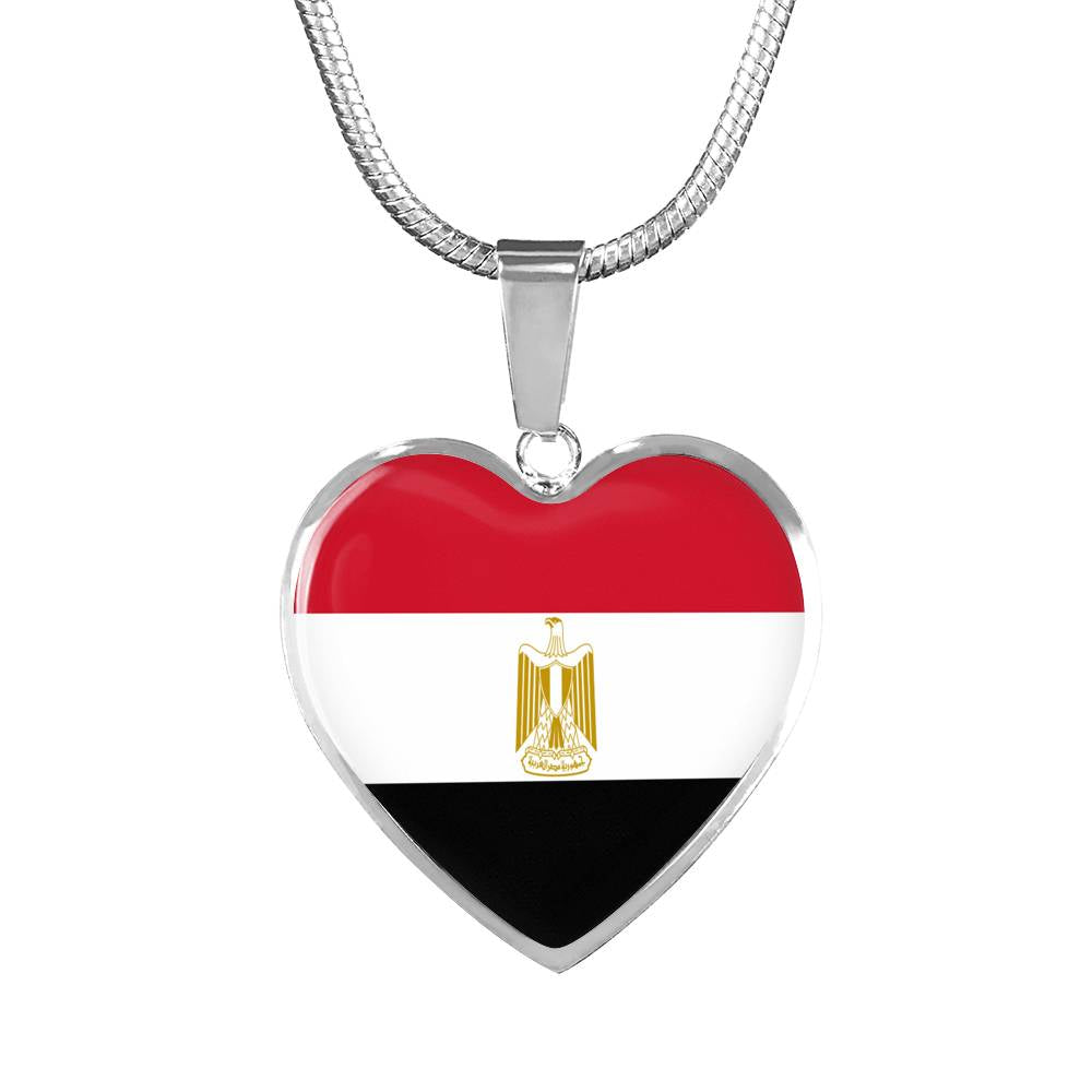 Egypt Heart Necklace