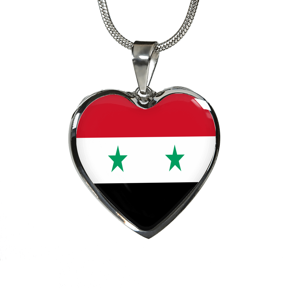 Syria Heart Necklace