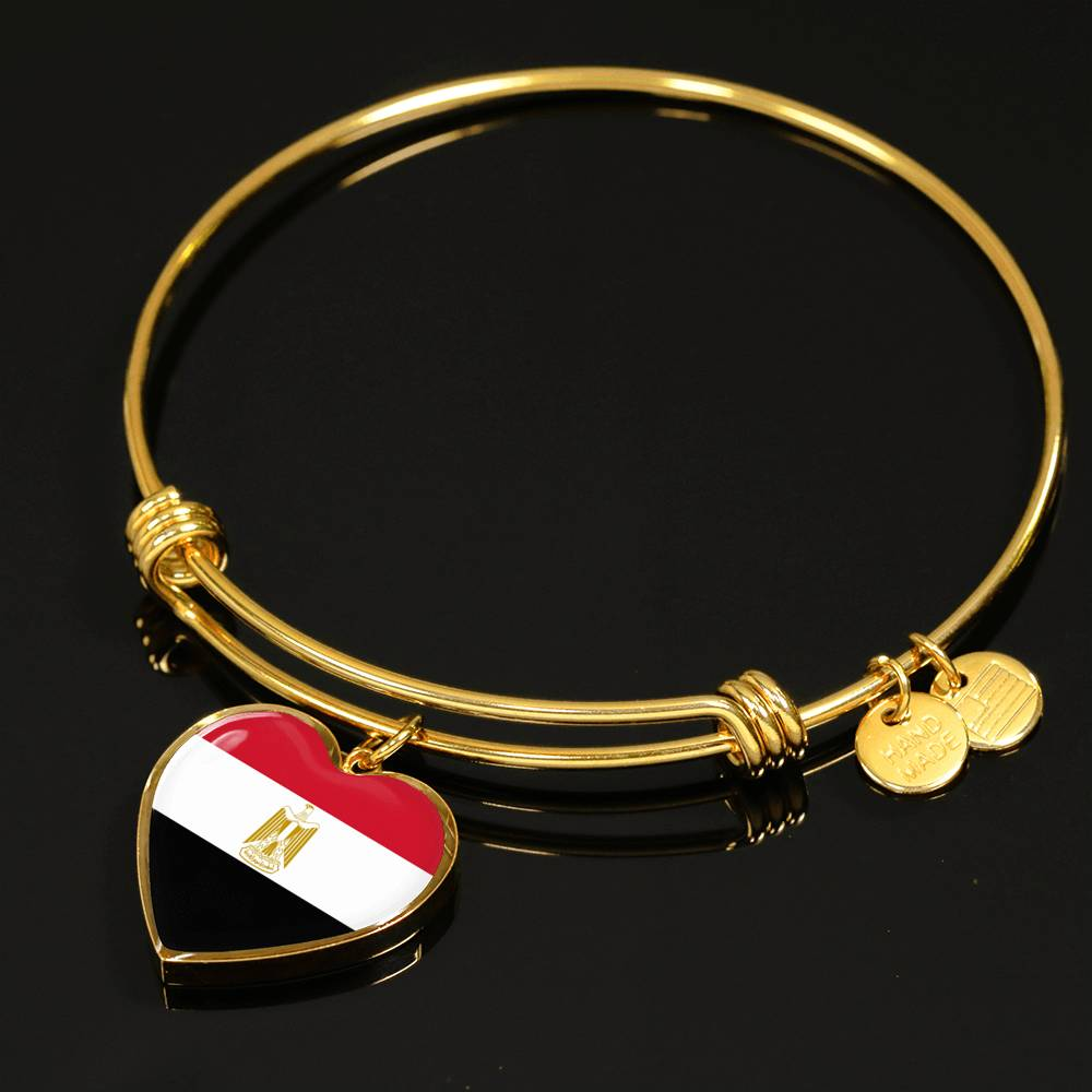 Egypt Heart Bangle