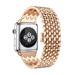 Business Style Metal Strap Band For Apple Watch