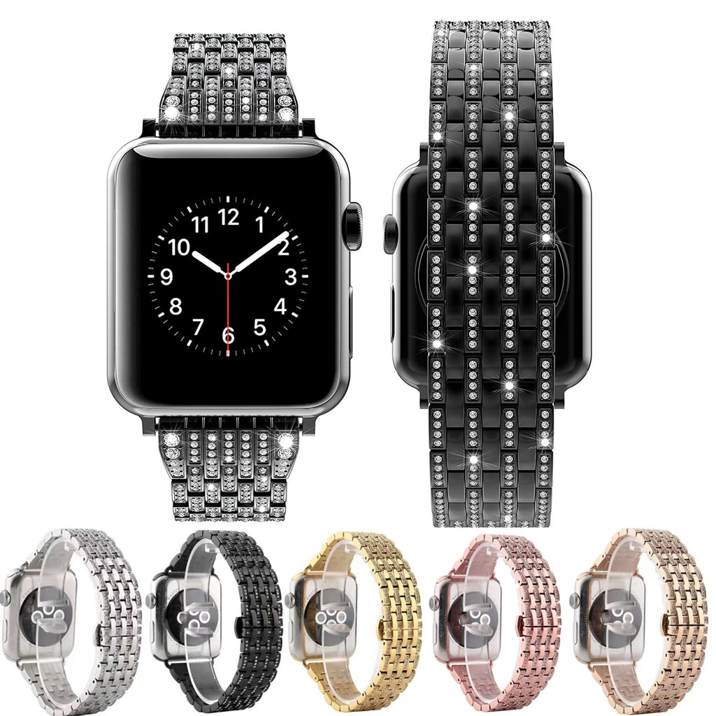 Crystal Diamond Bracelet Band For Apple Watch