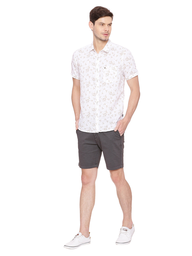 Self design shorts in color Black - urban clothing co.