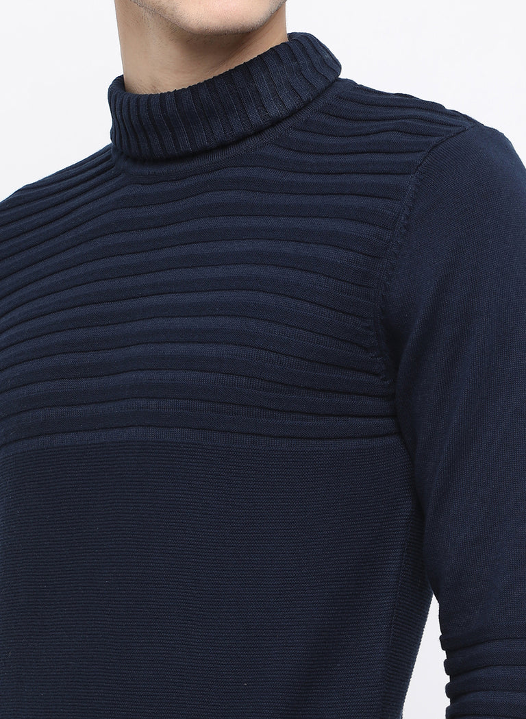 navy stripe sweater - urban clothing co.