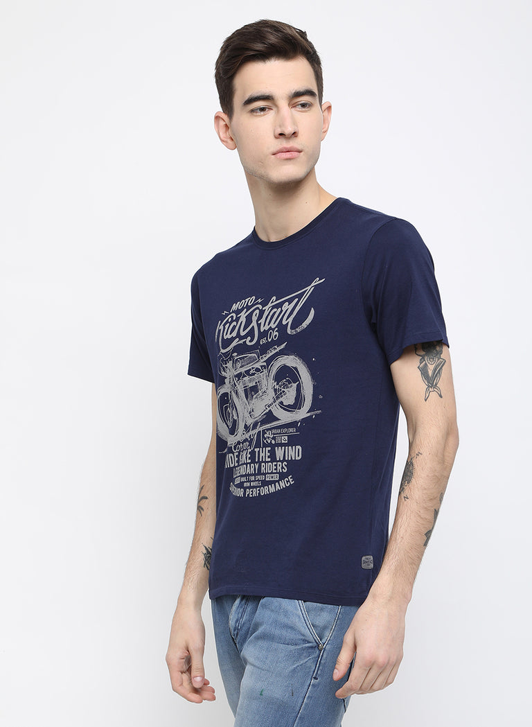 urban explorer ink chest printed t shirt - urban clothing co.