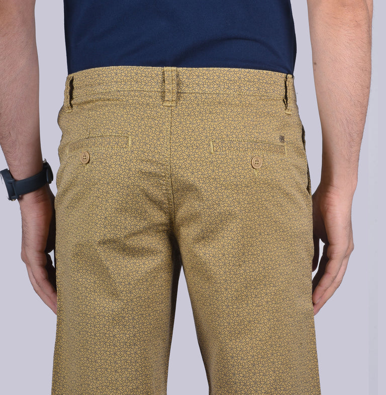 Khaki Uber cool shorts. - urban clothing co.