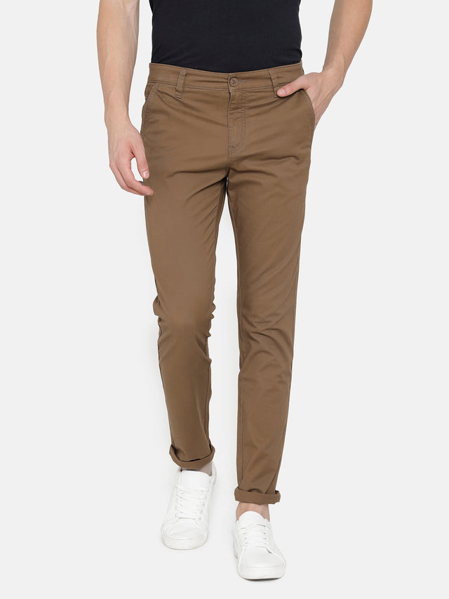 Brown-TROUSERS