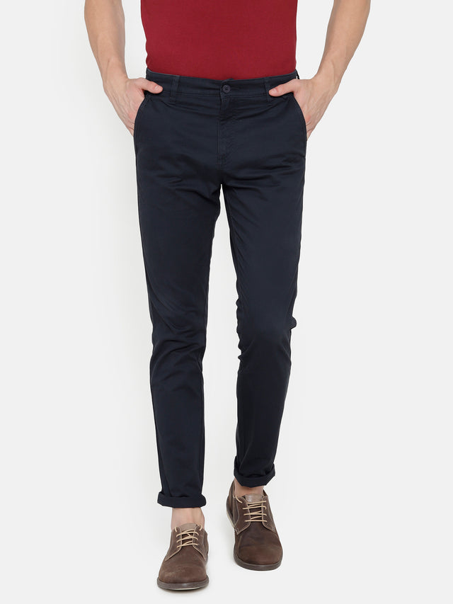 Deep Navy-TROUSERS
