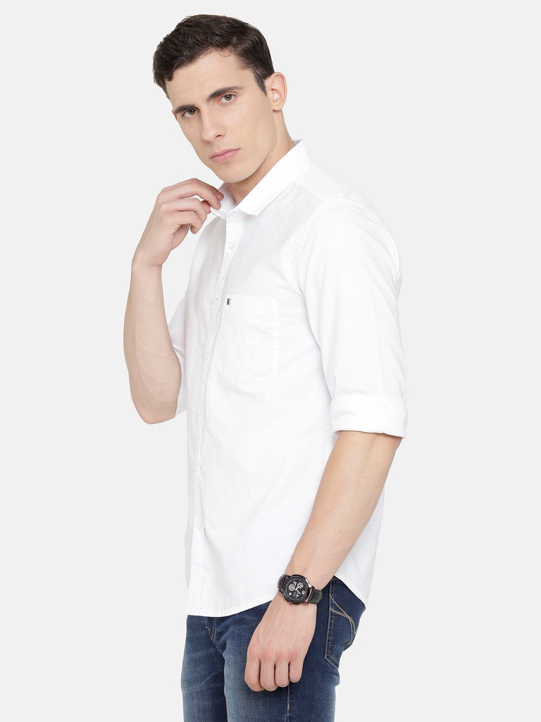 White Oxford smart Shirt