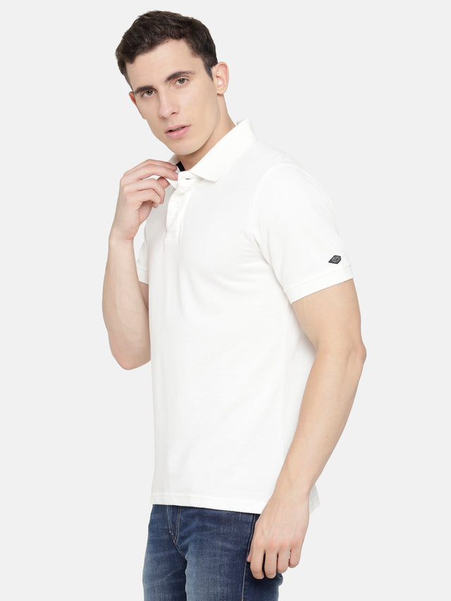White Polo T-Shirt
