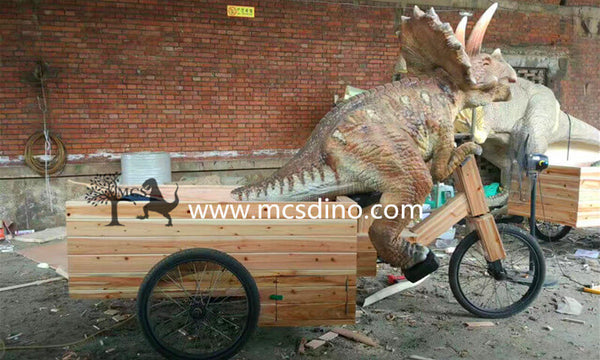 Small Dinosaur Tricycle Parade Float-OTD021