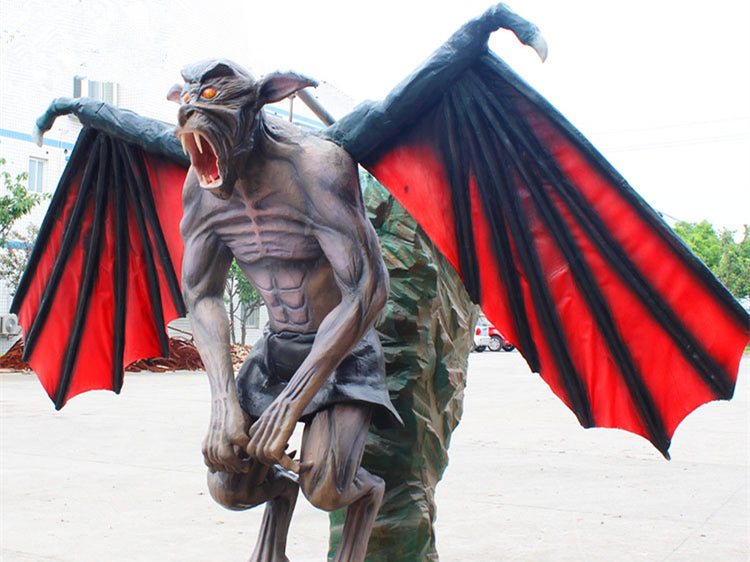 customized animatronic Gargoyle-halloween haunted props