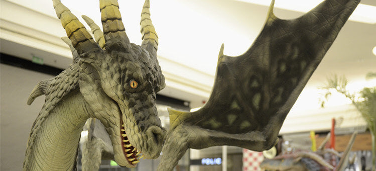 mcsdino-animatronic dragon