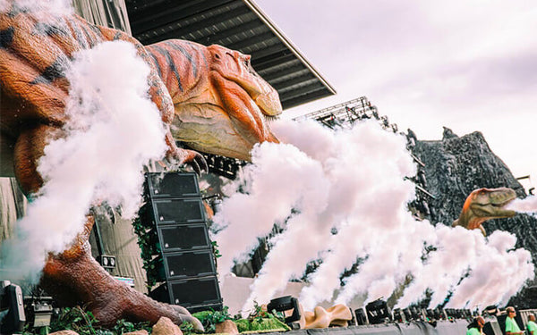 t rex spray smoke