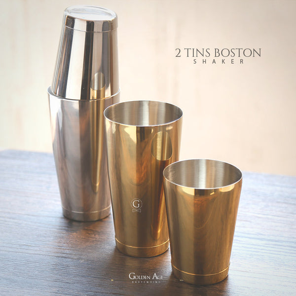 2 Tins Boston Shakers
