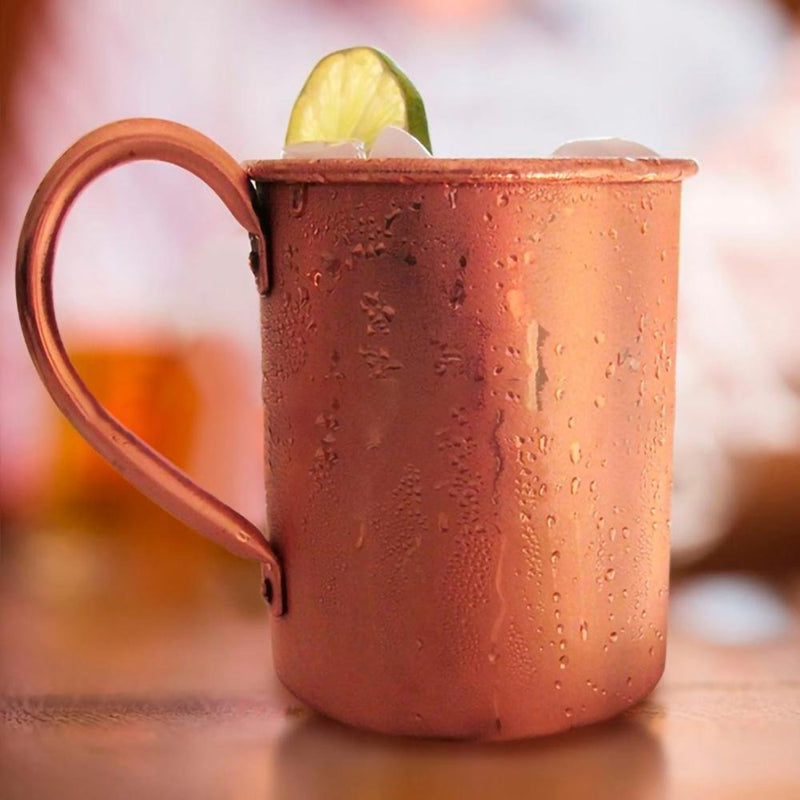 Pure Copper Moscow Mule Mug - Golden Age Bartending