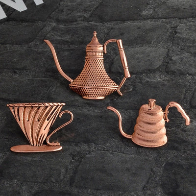 PINS - Coffee Drip - Golden Age Bartending Bar Tools