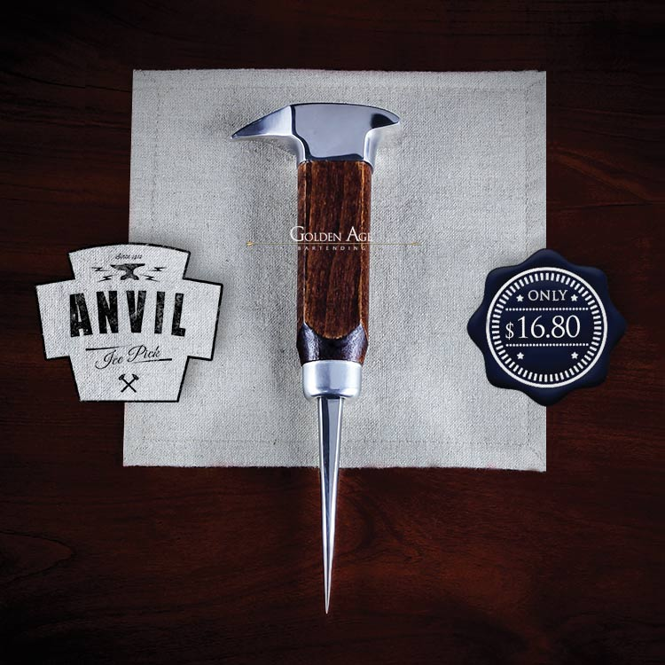 Ice Pick Anvil - Golden Age Bartending Bar Tools