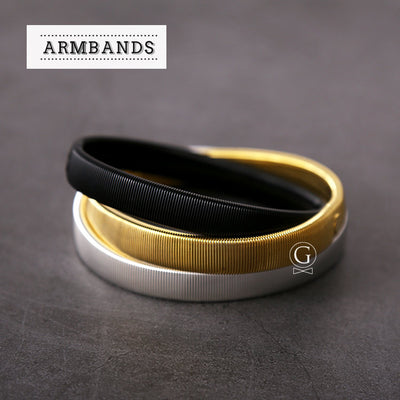 Armbands - METAL - Golden Age Bartending Bar Tools
