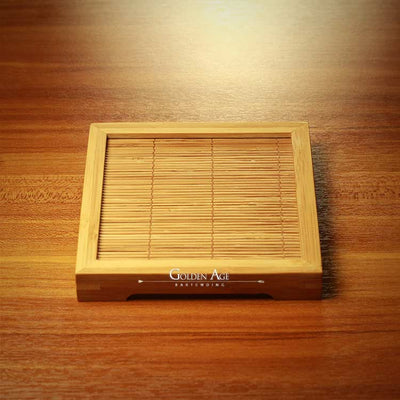 Bamboo Coaster - Golden Age Bartending Bar Tools