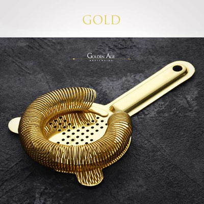 Baron Strainers - Golden Age Bartending Bar Tools