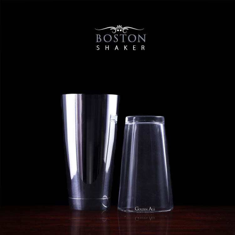 Boston Shakers - Golden Age Bartending Bar Tools