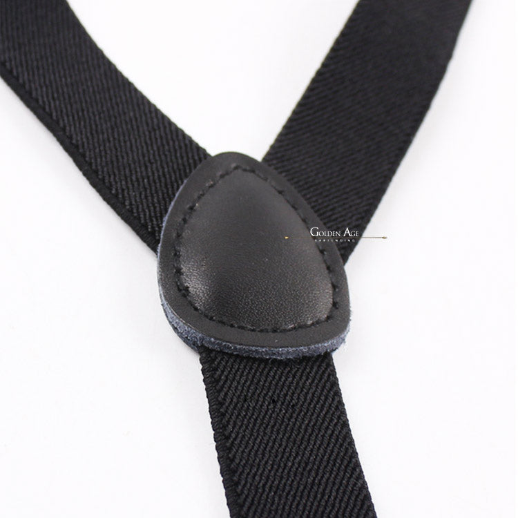 CLEARANCE! Single Suspenders Black - Golden Age Bartending Bar Tools