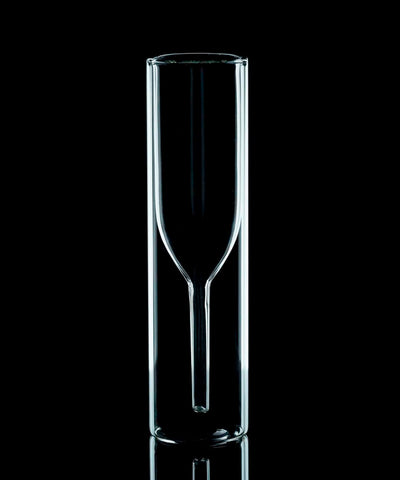 Champagne Glass - Double layered - Golden Age Bartending Bar Tools